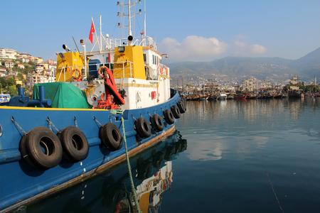 alanya: Alanya Turkey Port.
