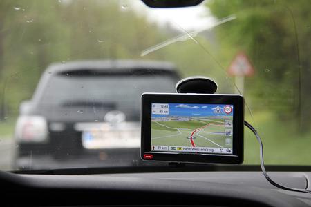 Navigation Reklamní fotografie