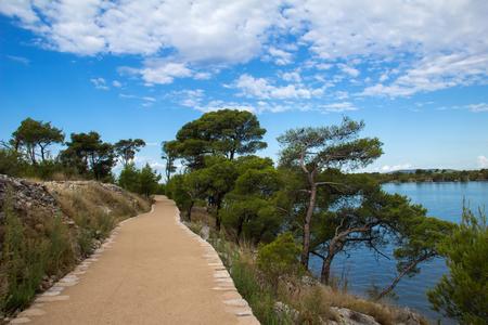 adriatic: Adriatic coast. Stock Photo