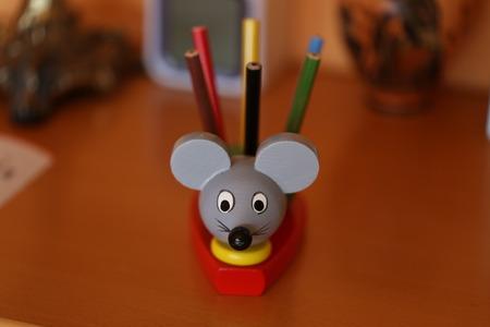Pencil stand  Decorative pencil holder