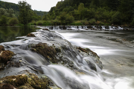 River Dobra (Croatia) / Beautiful river in Croatia Standard-Bild - 111689847