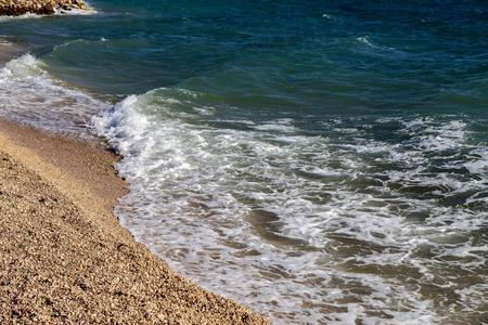 Seelandschaft / Adria / Meereswellen Lizenzfreie Bilder - 86671735