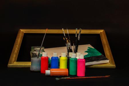 Aquarell-Farben Lizenzfreie Bilder - 86514215