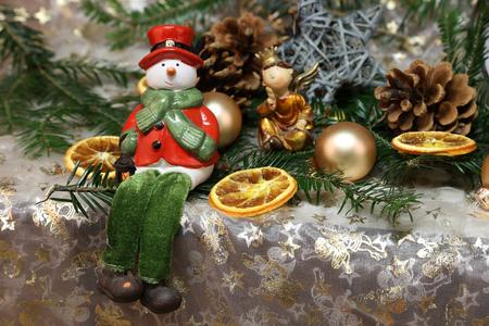 Christmas Toys  Beautiful Christmas and New Years scene Standard-Bild