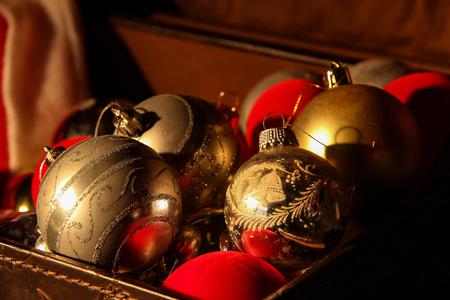 Weihnachten Spielzeug  Schöne Weihnachten und Neujahr Szene Standard-Bild