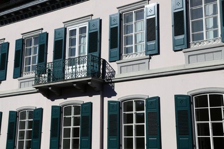 Windows / Windows and balconies Standard-Bild - 111689650