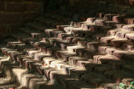 Stairs of sandstone  Shadows