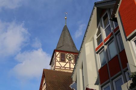 Towers of the Old City / Niederstetten (Germany) Standard-Bild - 115687151