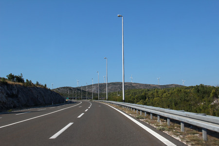 Roads of Croatia Standard-Bild - 115687153
