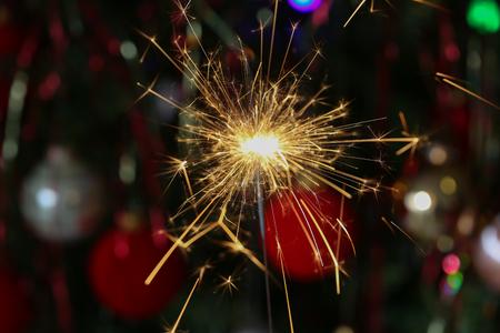 Christmas / Beautiful Christmas and New Years scene Standard-Bild - 93702249