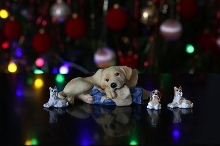 Weihnachten / schöne Weihnachten und neue Sommerszene Standard-Bild - 93739420