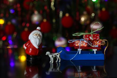 Christmas  Beautiful Christmas and New Years scene