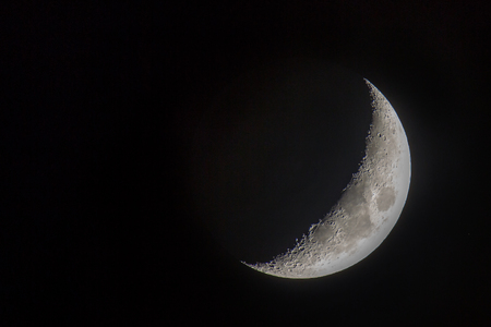 Moon / Satellite of our planet Earth Standard-Bild - 115687186