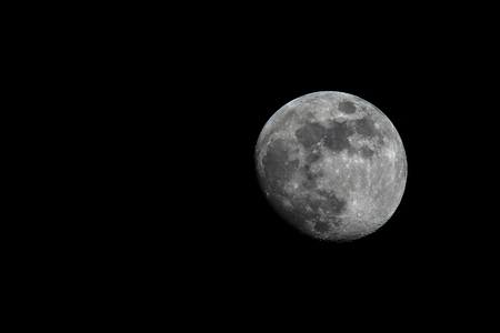 Moon / Satellite of our planet Earth Standard-Bild - 115687185