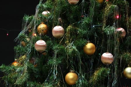 Christmas / Beautiful Christmas and New Years scene Standard-Bild - 93720709