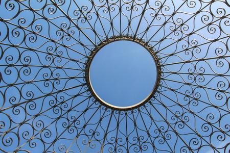 Decorative lattice in the shape of a dome Standard-Bild - 115687115