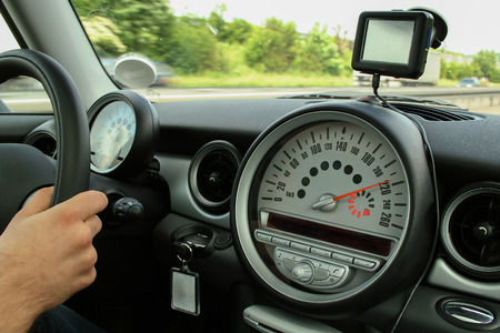 Inside the car / transport Standard-Bild - 115687119
