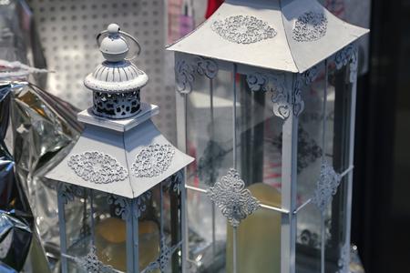 Decorative lamps close-up Standard-Bild - 115687062