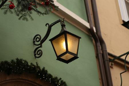 Street light / Vintage street lamp close-up Standard-Bild - 115687018