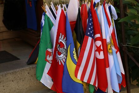 Flags of different countries  Flags of different states