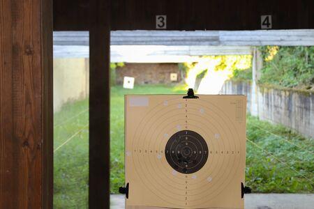 Shooting range  Targets at the shooting range