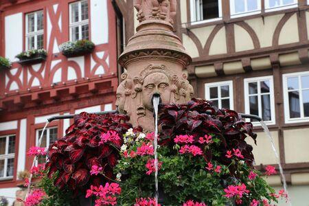 Urban well in Miltenberg (Germany)