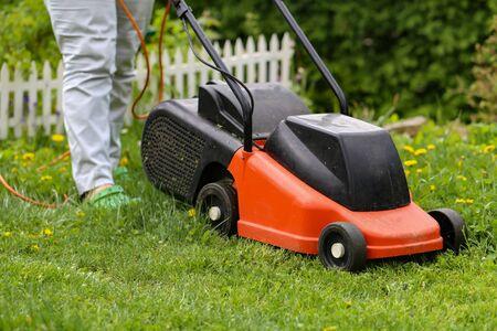Tondeuse / Tondre la pelouse
