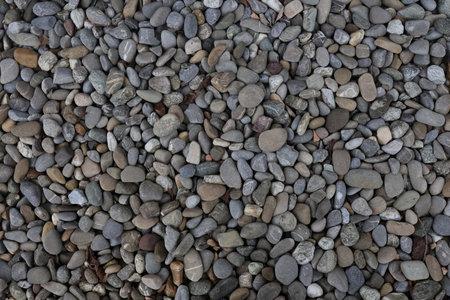 Pile sea gray stones. Background from sea gray stones