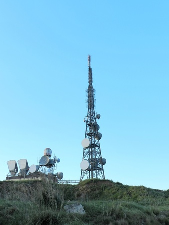 Antenna on a hill Stock Photo - 13405262