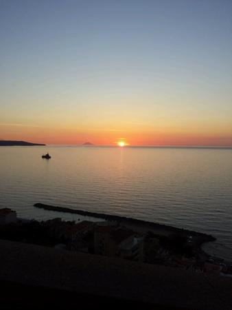 calabria: Tramonto a Pizzo Calabro, Italia, Calabria
