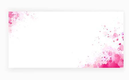 Grunge roze achtergrond art voor schoonheidssalon dekking Stock Illustratie