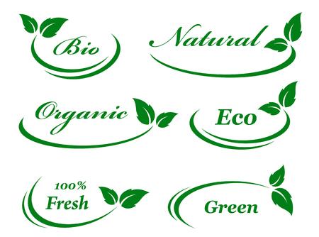 aantal achtergrond met groene bladeren