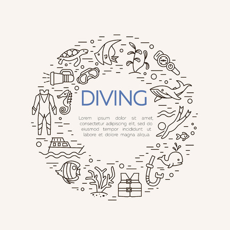 sinker: Fishing icons. Summer activity vector icons. Fishing elements isolated. Summer concept - fishing line icons in circle shape. Marine symbols. Fishing equipment.