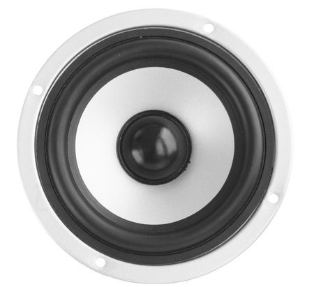 gray dynamic loudspeakerthe musical acoustic equipment photo