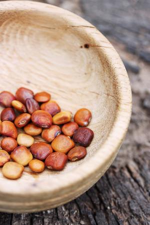 leguminosas: Semillas j�cama, una verdura mexicana de la familia de las leguminosas