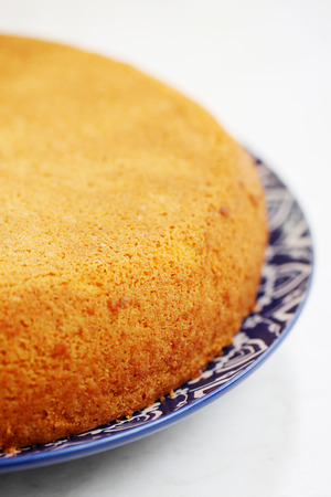 without: Sponge cake without cream, preparation for cake