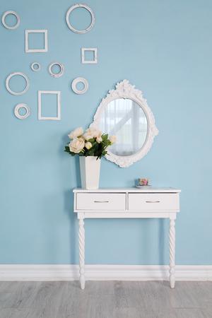 interieur van de vrouwelijke kamer