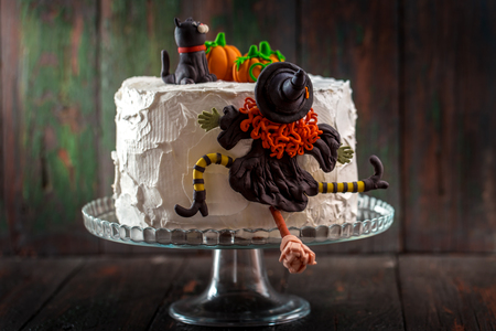 Cake with a witch