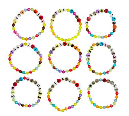 bracelets with slogans