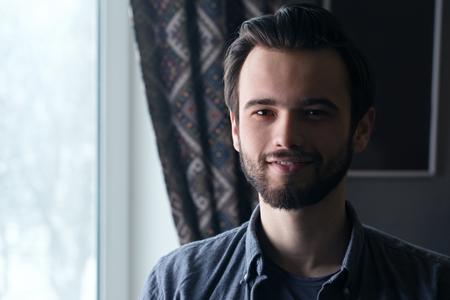 happy handsome guy