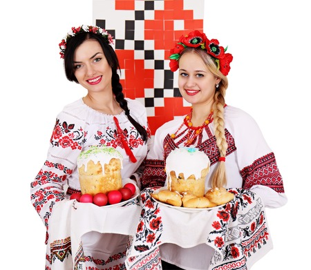 twobeautiful Ukrainian women