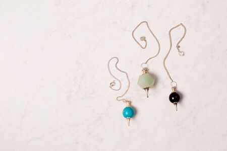 three pendulums for working in the Reiki stream