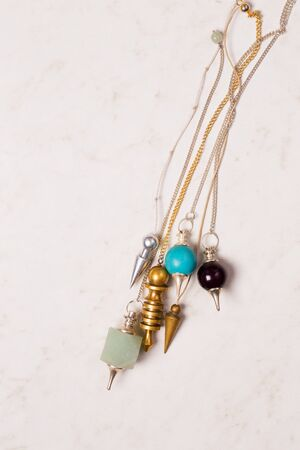 six pendulums for working in the Reiki stream