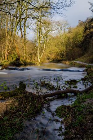 Long exposure of River Dove