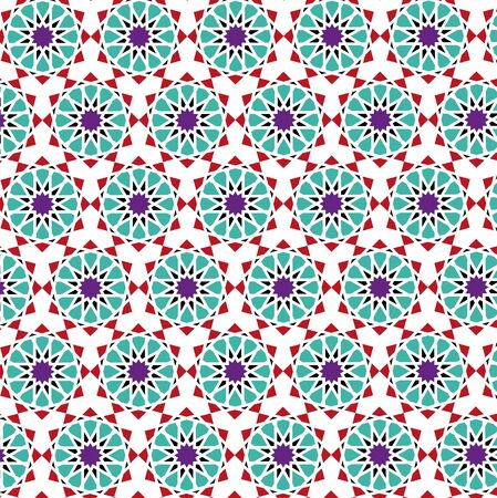 Traditional Islamic Background, Arabic Pattern