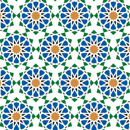 Traditional Islamic Background, Arabic Pattern