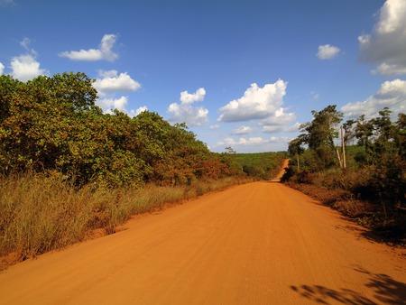 dusty: Dusty road in Cambodia
