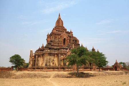 Unknown Temple in Bagan, Myanmar