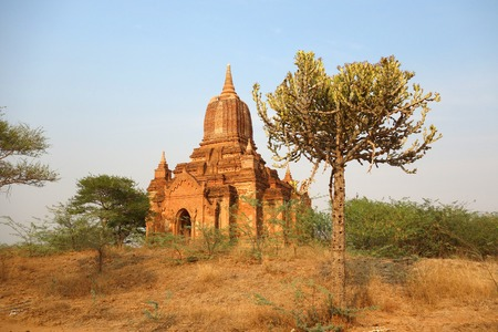 Unknown Temple in Bagan, Myanmar