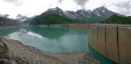 mammoth lakes: Dam at Mooserboden lake next to Kaprun, Austria